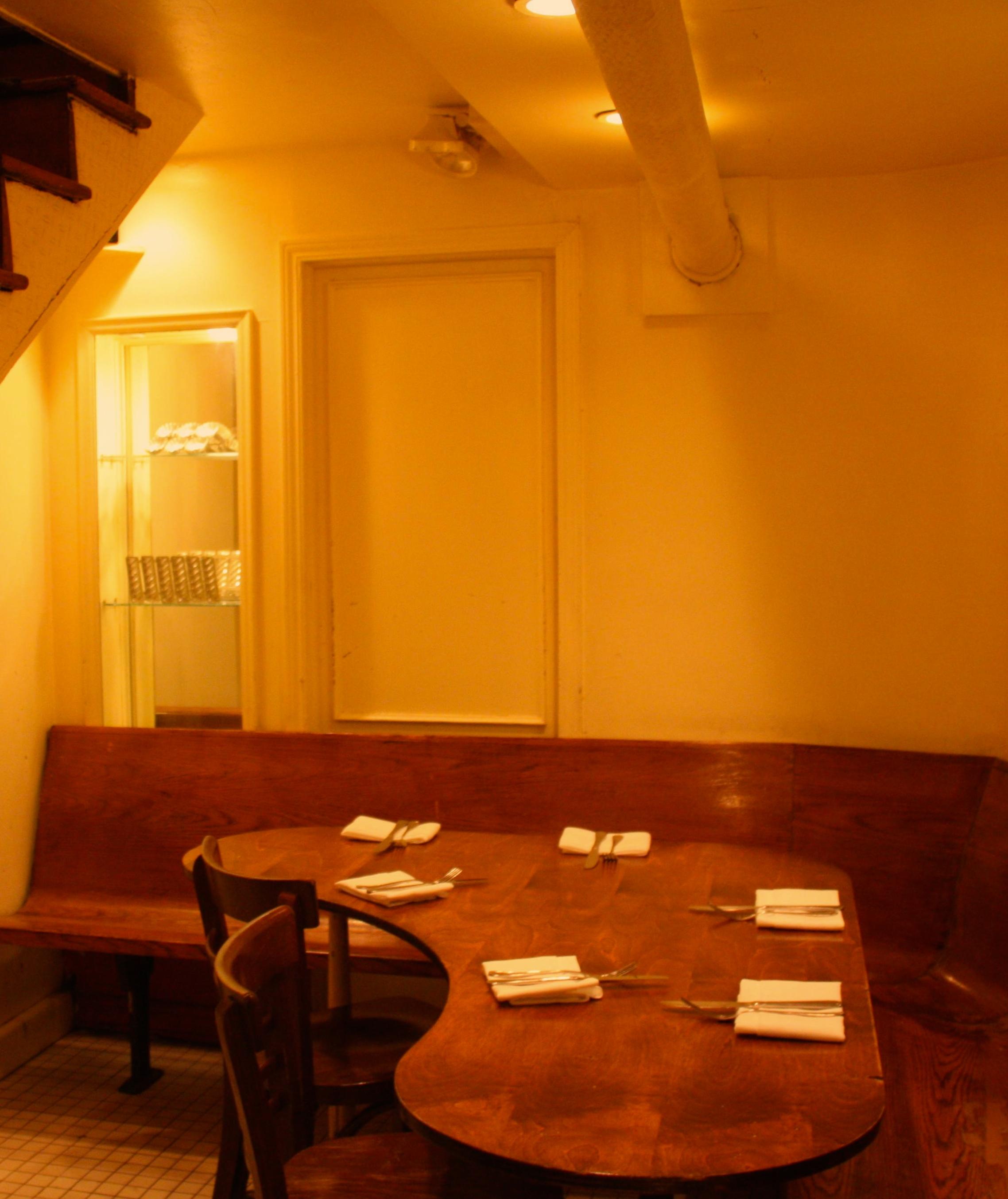 semi private dining prune restaurant